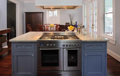Color Splash: Cool Blue Kitchens