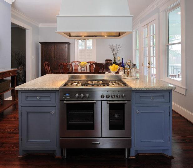 True Food Kitchen Design: Color Splash: Cool Blue Kitchens