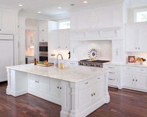 67 victorian kitchen design photos with panelled appliances