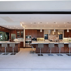 Contemporary Kitchen by Brandon Architects, Inc.