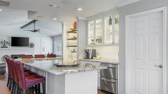 Hello, Open & Flowing Floor Plan! A Complete Kitchen & Bar Area Remodel