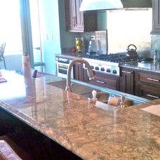 Modern Kitchen by Jeff Wittwer  Helmart Company, Inc.