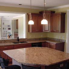 Traditional Kitchen by Jeff Wittwer  Helmart Company, Inc.