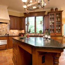 Traditional Kitchen by BlueStone Construction, LLC