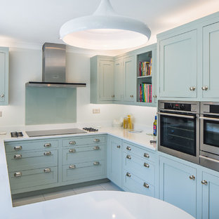 Turquoise Cabinets And Laminate