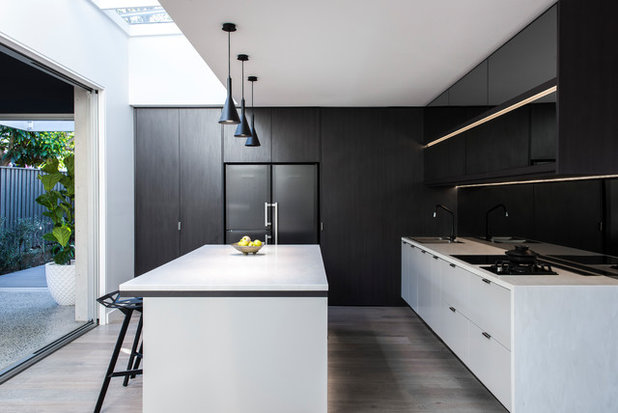 Contemporary Kitchen By Justin Loe Architects