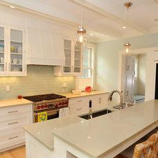 Beach Style Kitchen by Burton Builders