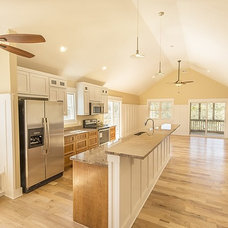 Beach Style Kitchen by Tab Winborne Corporation