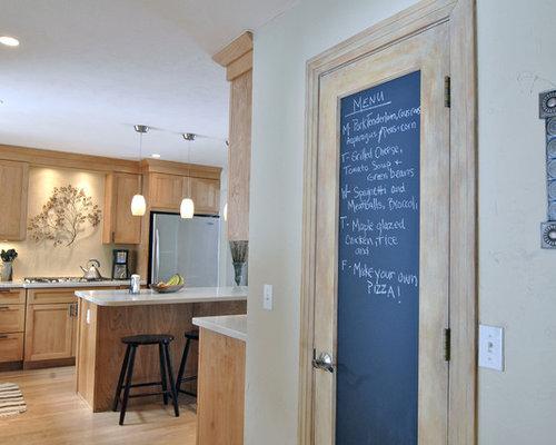 Chalkboard Pantry Door | Houzz