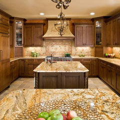 mediterranean kitchen by Cameo Kitchens, Inc.