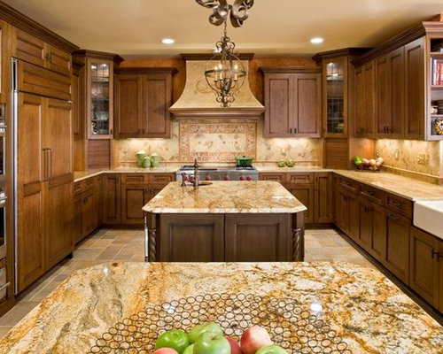 Kashmir Gold Granite Home Design Ideas Pictures Remodel