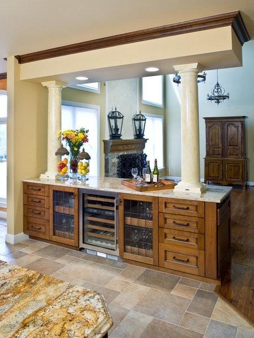 Mediterranean Tray Dividers Kitchen Design Ideas & Remodel Pictures   Houzz