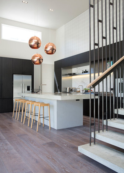 Contemporary Kitchen by Gerrad Hall Architects
