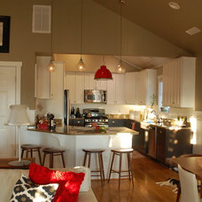 Eclectic Kitchen by Amy Tyndall Design
