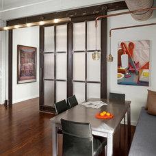 Industrial Kitchen by Boor Bridges Architecture