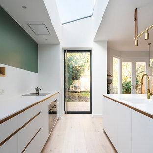 Design ideas for a scandi kitchen in London.