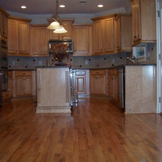 Traditional Kitchen by AHB General Contractors