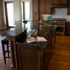 Craftsman Kitchen by OK Woodcrafters Co.