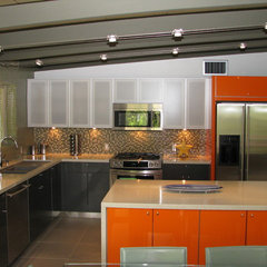 modern kitchen by Homework Remodels ~ Tri-Lite Builders