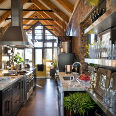 Rustic Kitchen by Cabinets To Go
