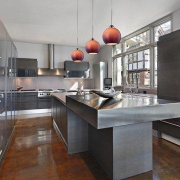 HGTV Home Cassandra Blown Glass Mini Pendant Modern Kitchen Island Lighting