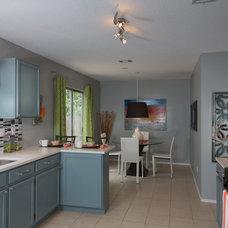 Eclectic Kitchen by Design Studio2010, LLC