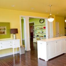 Traditional Kitchen by alisha gwen interior design