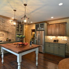 Traditional Kitchen by Cobblestone Homes