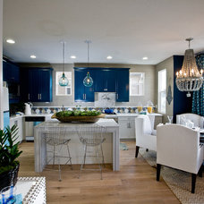 Contemporary Kitchen by Lulu Designs