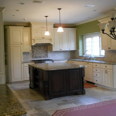 Traditional Kitchen by Cj Knapp interiors