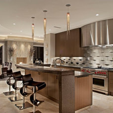 Contemporary Kitchen by Hennessee Haven Design Group, LLC