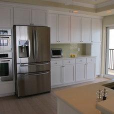 Beach Style Kitchen by Benson & Associates, Interior Design