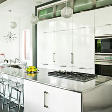 Contemporary Kitchen by Mark Hickman Homes
