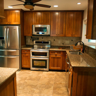 Example of a classic kitchen design in Baltimore