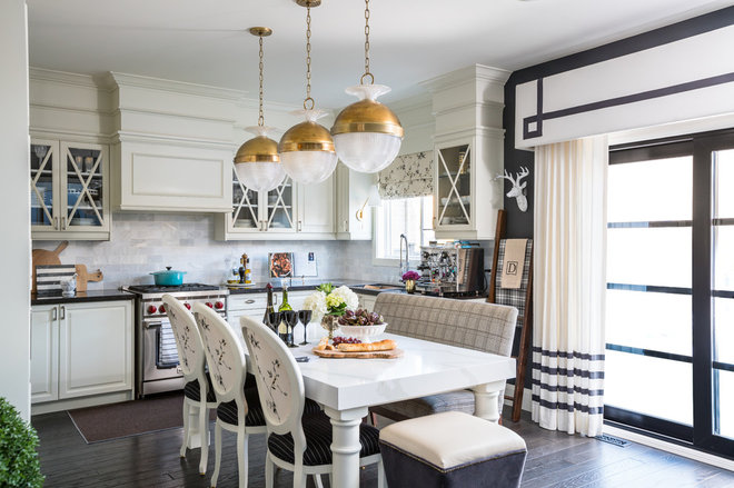 Transitional Kitchen by Interiors by Odette Design Group
