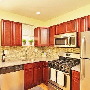 Contemporary kitchen ideas - Trendy kitchen photo in Philadelphia