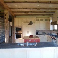 Traditional Kitchen by Coburn Development