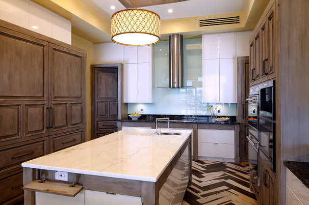 Transitional Kitchen by Busby Cabinets