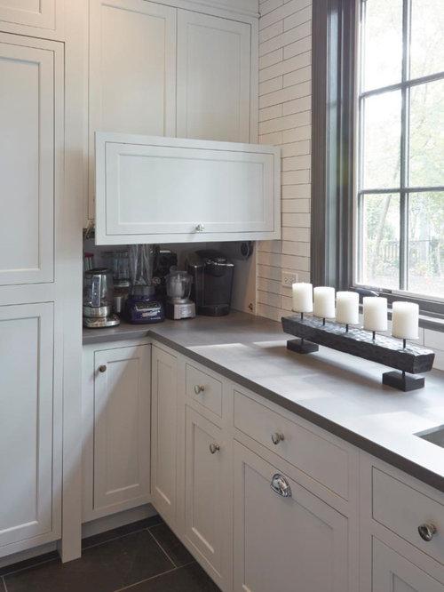 Ideas para cocinas   Fotos de cocinas extra grandes con despensa