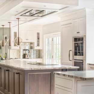 High-end Kitchen Design with Oversized Island