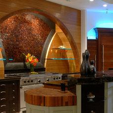 Eclectic Kitchen by Kitchen Studio Monterey