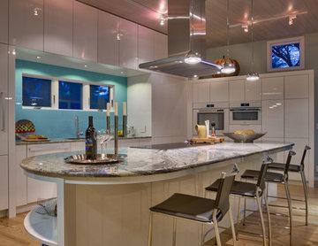 High Gloss Acrylic Kitchen - Omaha, NE