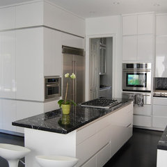 contemporary kitchen by Custom Cabinets by Design