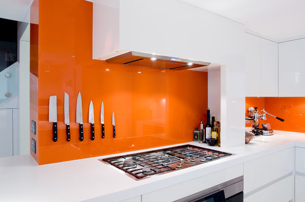 Contemporary Kitchen by Dickinson Woodworks
