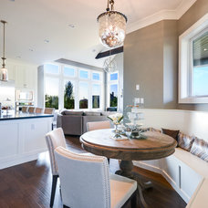 Transitional Kitchen by Currant Interior Design