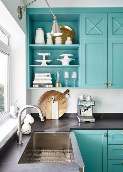 Transitional Kitchen by Toronto Interior Design Group