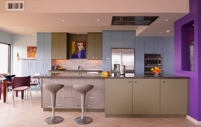 How to Color-Block With Confidence in the Kitchen