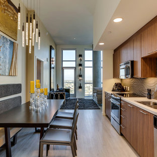 Open Kitchen To Dining Room Houzz - Open-kitchen-dining-room