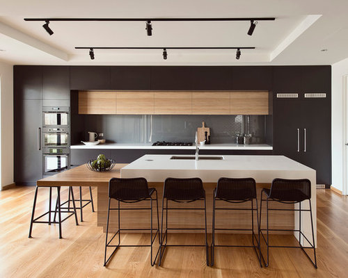 30 best modern galley kitchen ideas remodeling photos houzz Modern kitchen design ideas houzz