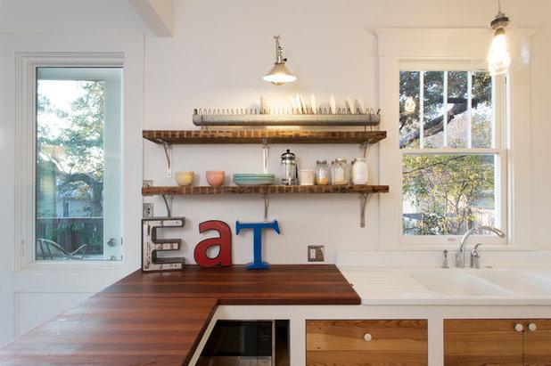 Eklektisch Küche by Davenport Building Solutions